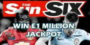 Sun Six betting tips and predictions! Play for free, win £1 million!