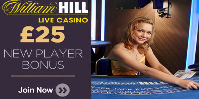 William Hill Live blackjack: How to play and get a £25 bonus (Video Tutorial)