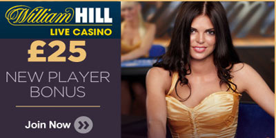 William Hill Live baccarat: How to play and get a £25 bonus (Video Tutorial)